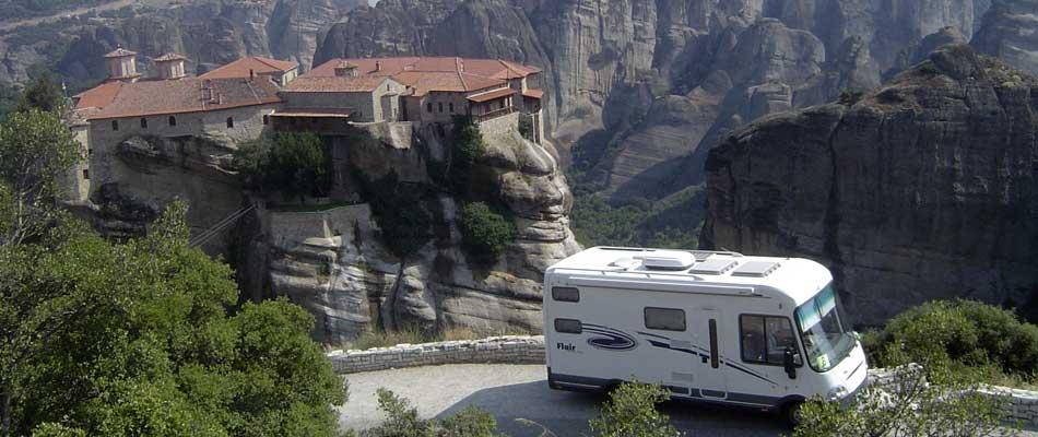 Resultado de imagen de autocaravana en montaña